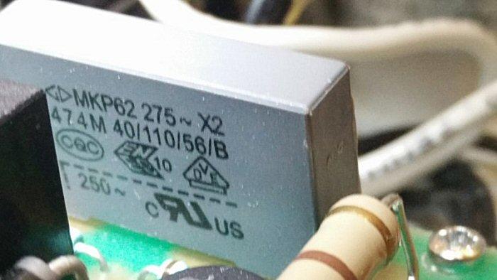 Condensateur 474 X2