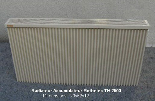 radiateur electrique rothelec. Black Bedroom Furniture Sets. Home Design Ideas