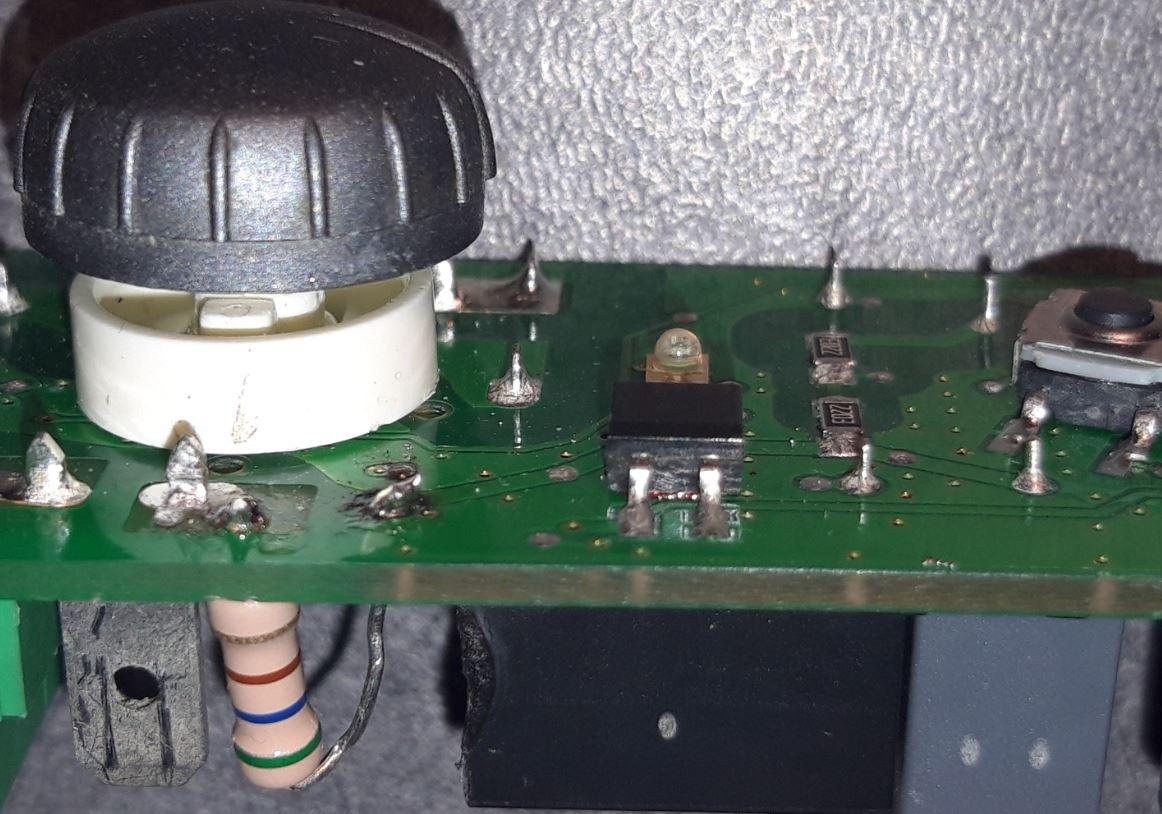Carte électronique du thermostat Atoll chromé