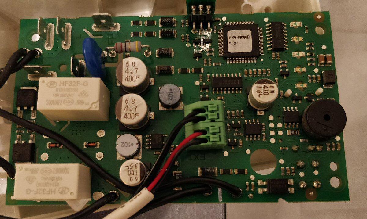 Carte électronique Acova Cala