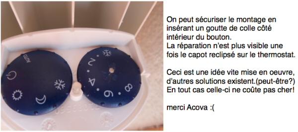 comment reparer thermostat radiateur