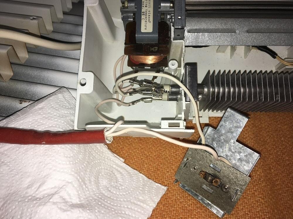 Réparation du sèche-serviette Calor