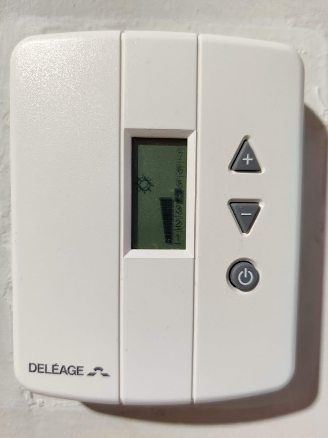 Thermostat d'ambiance Deléage TAI62