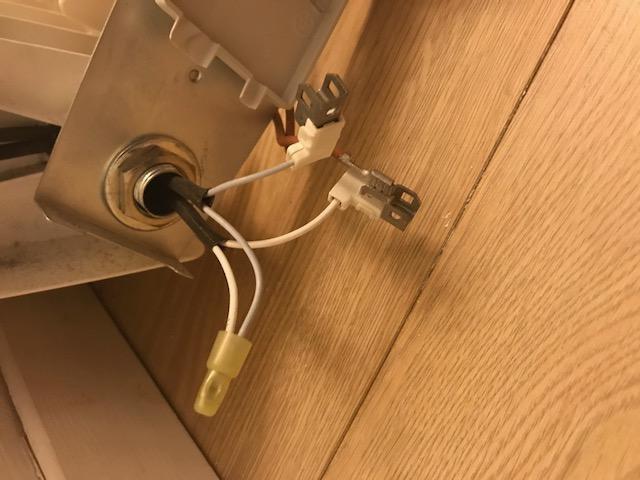 câblage résistance chauffante