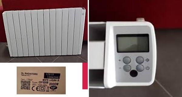 Radiateur delonghi radiateur lectrique inertie fluide delonghi easylife with radiateur delonghi - Radiateur electrique delonghi ...