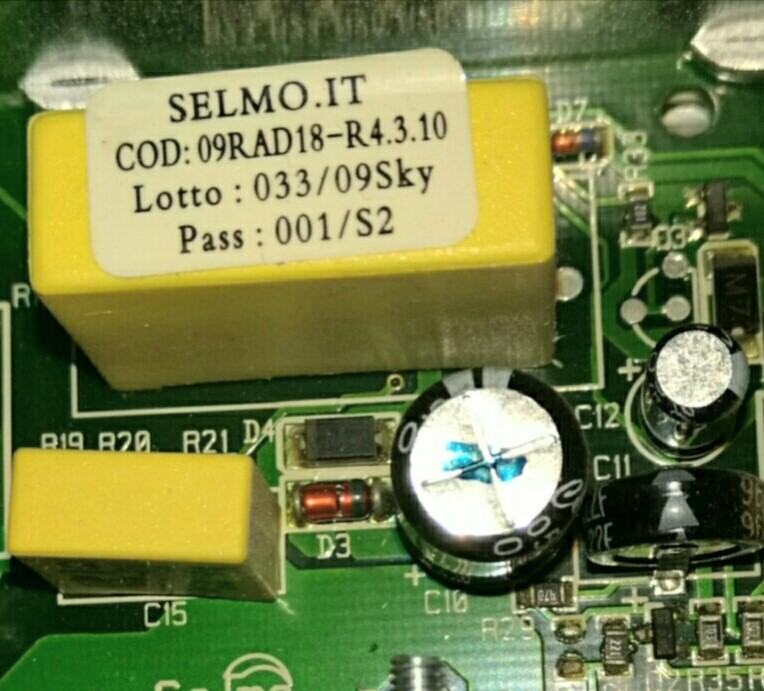 Carte électronique du radiateur Delonghi San Marco