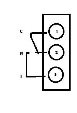 Contact du thermostat Deltia