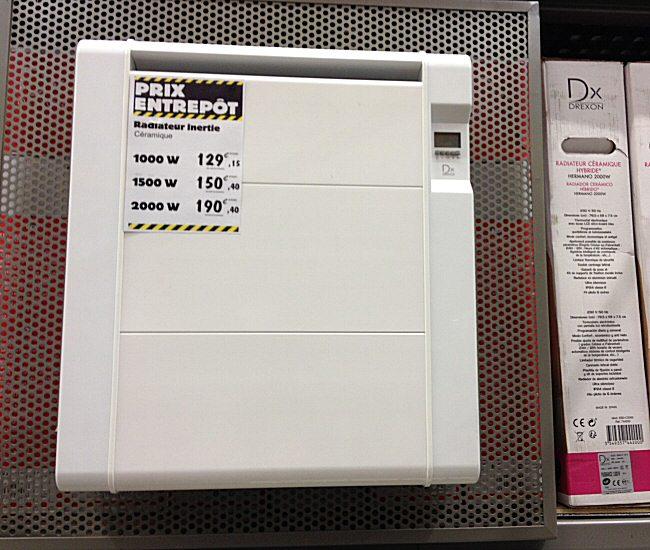 radiateur Drexon