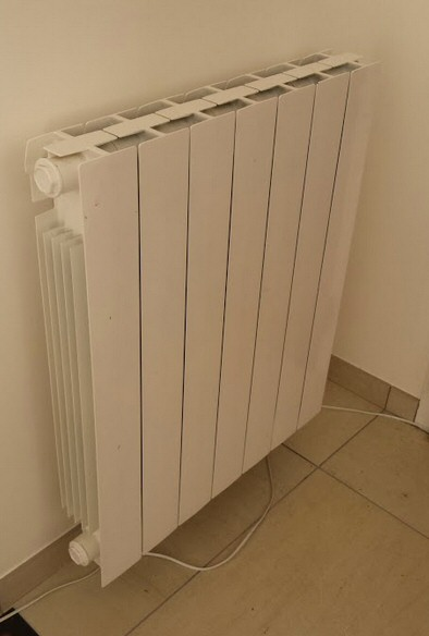 Radiateur électrique à inertie Promethee