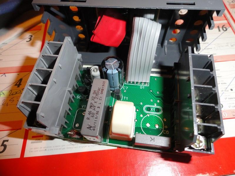 Réparation de la carte électronique du Piloteco