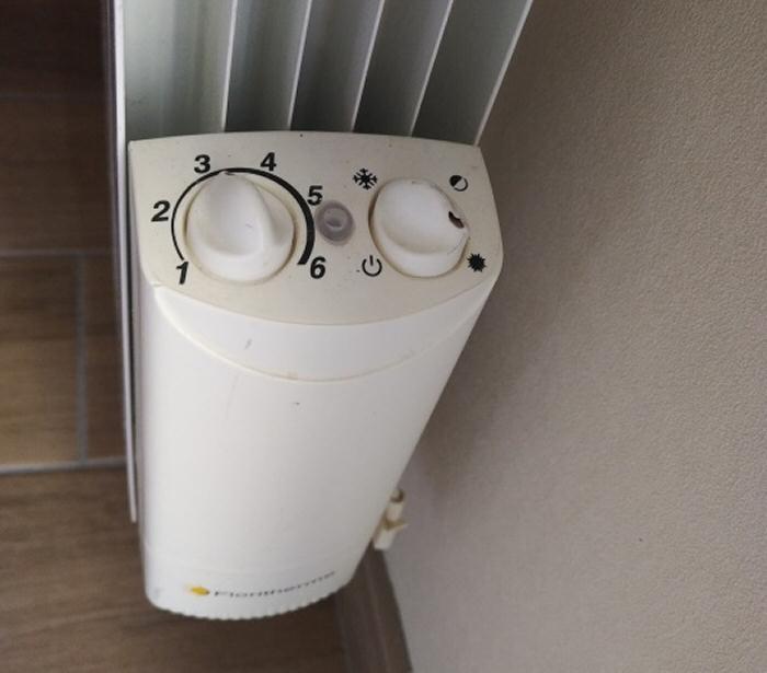 Le thermostat du radiateur Floritherme