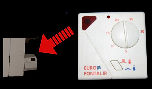 thermostats pour radiateur euro fonte. Black Bedroom Furniture Sets. Home Design Ideas
