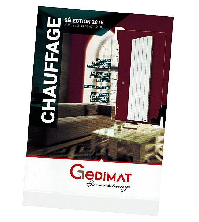 Catalogue GEDIMAT rentrée 2018