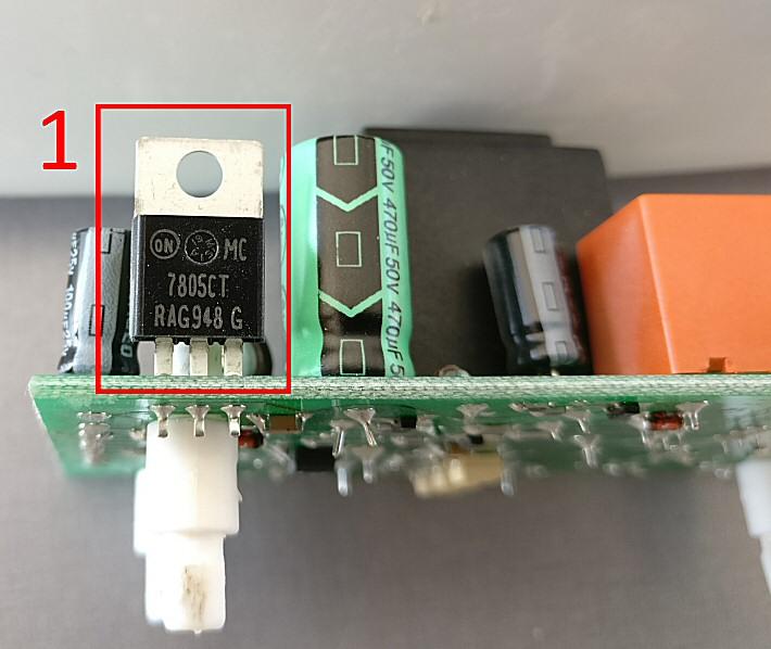 Régulateur 5 volts 7805