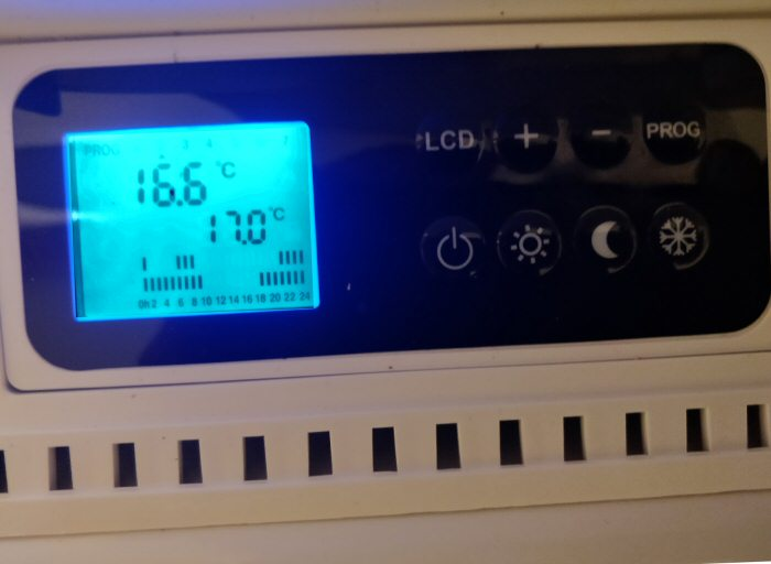 Thermostat d'un radiateur Air Ieal