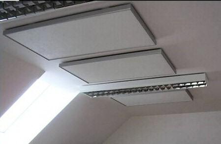 Panneaux chauffant au plafond