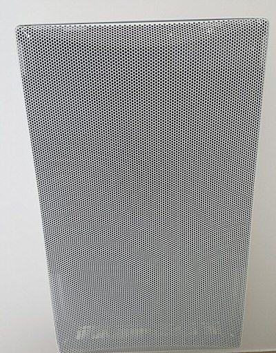 Un panneau rayonnant vertical