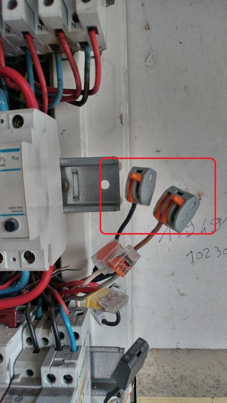 Comment brancher HEAT LINK sur le tableau électrique ?