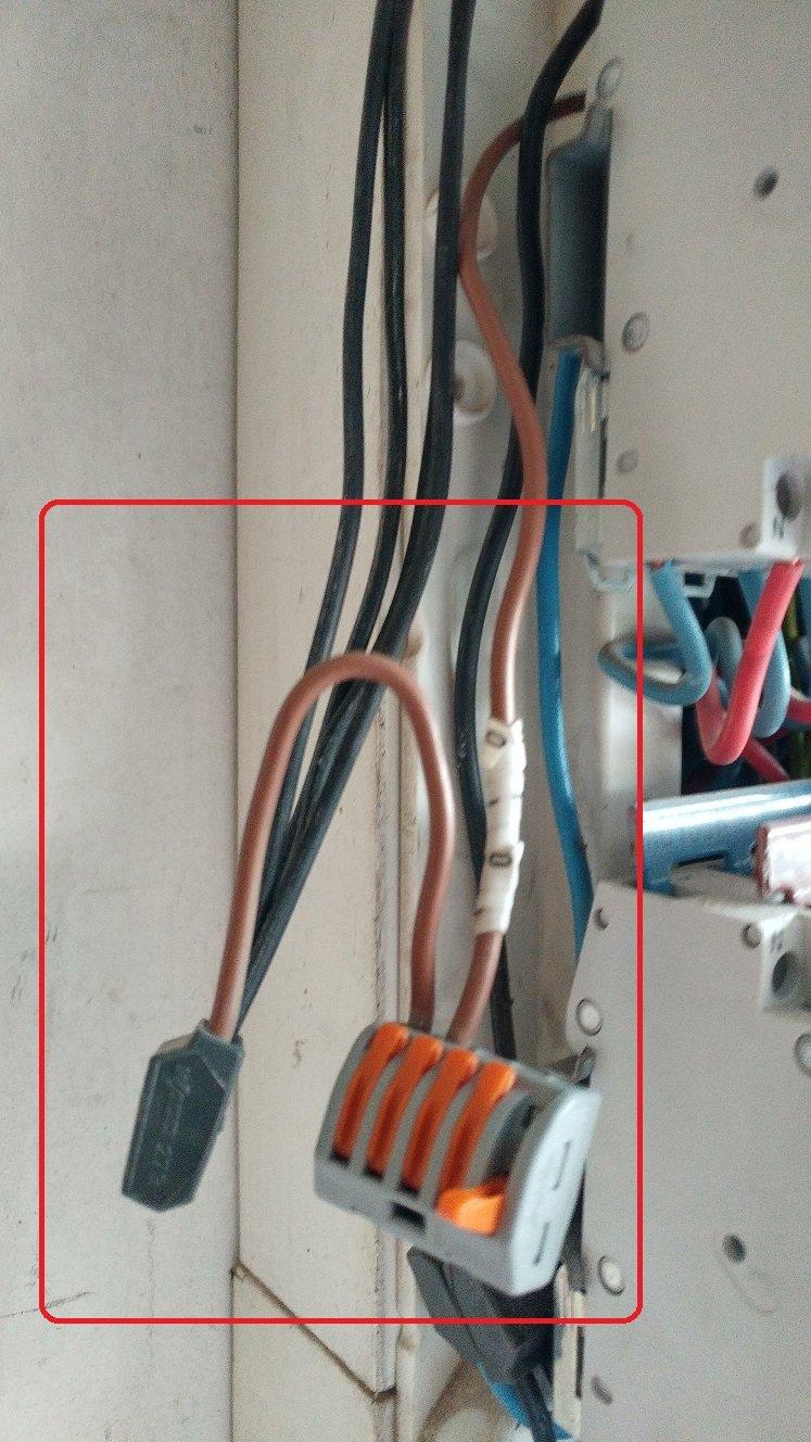 Comment brancher HEAT LINK au fil pilote du tableau électrique ?