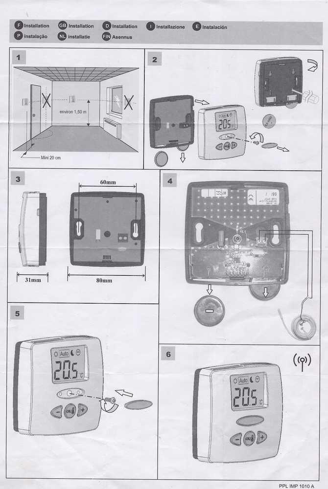Thermostat WFHTRF