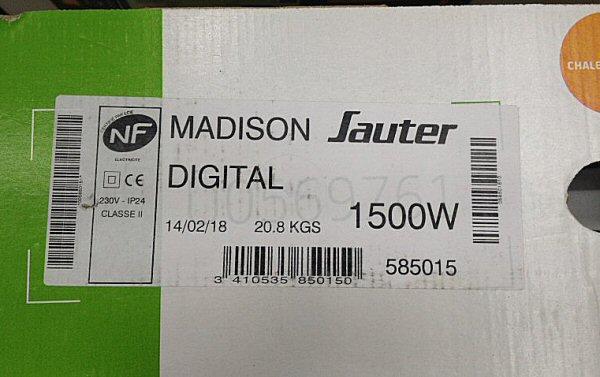 Madison numérique 1500W