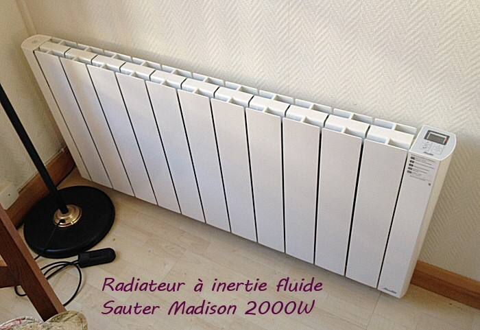 pour ma famille prix radiateur electrique inertie seche 2000w madison. Black Bedroom Furniture Sets. Home Design Ideas