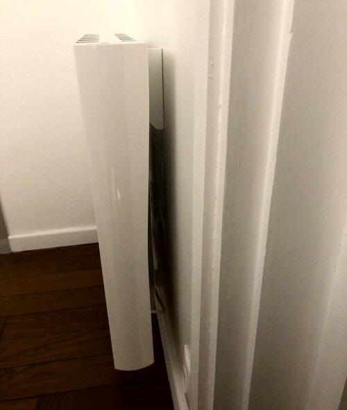 Patte de fixation d'un radiateur Sauter Madison