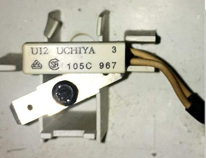 Thermostat de surchauffe  UCHIYA