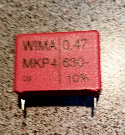Condensateur Wima MKP62