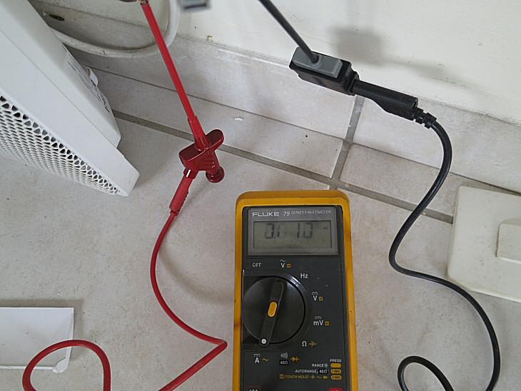 Consommation de veille d'un radiateur électrique