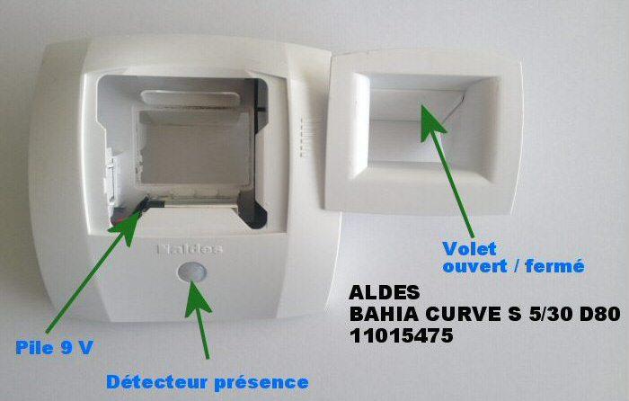 bouche de vmc Aldès bahia curve s 5/30