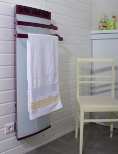 Sèche serviettes bi couleur 1000w ou 1500w