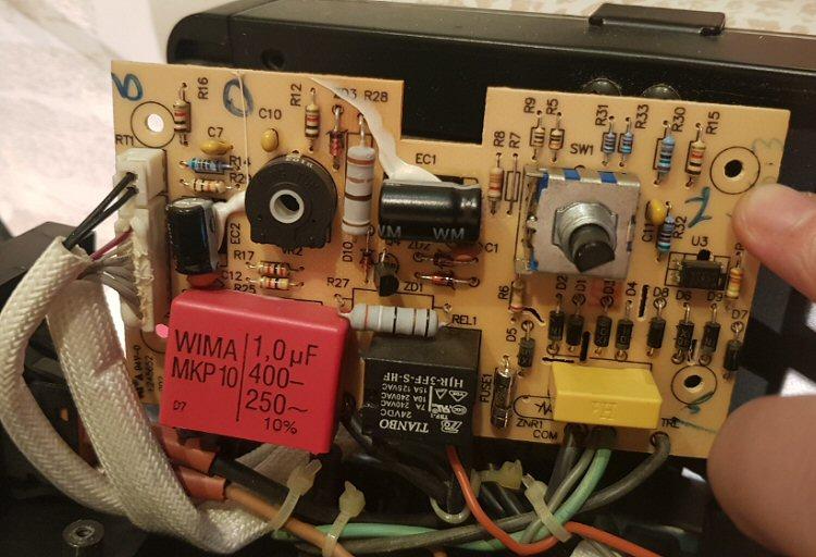Thermostat Warm Confort en panne