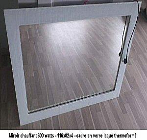 Miroir chauffant par infrarouges